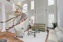 Interior (General) Dramatic circular Staircase - 20258 ISLAND VIEW CT, STERLING