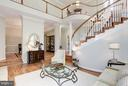 Interior (General) Dramatic 2-story Staircase - 20258 ISLAND VIEW CT, STERLING