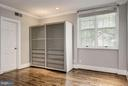 Unit comes with extra, modern closet - 3239 N ST NW #11, WASHINGTON