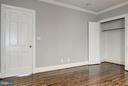 Bedroom with ample closet space - 3239 N ST NW #11, WASHINGTON