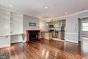 Interior (General) Unit comes with Elec Fireplace - 3239 N ST NW #11, WASHINGTON