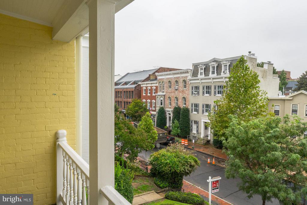 View of prestigious N Street, NW - 3239 N ST NW #11, WASHINGTON