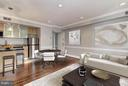 Living Room beautiful virtual layout - 3239 N ST NW #11, WASHINGTON