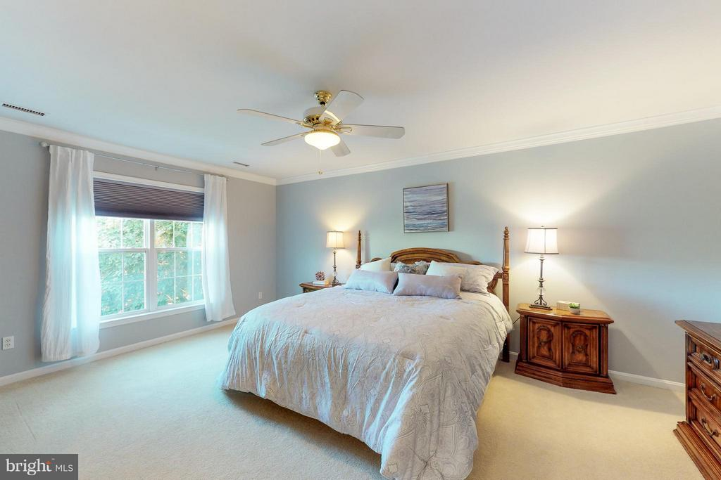 MBR with large walk-in Closet - 9800 BOLTON VILLAGE CT, FAIRFAX