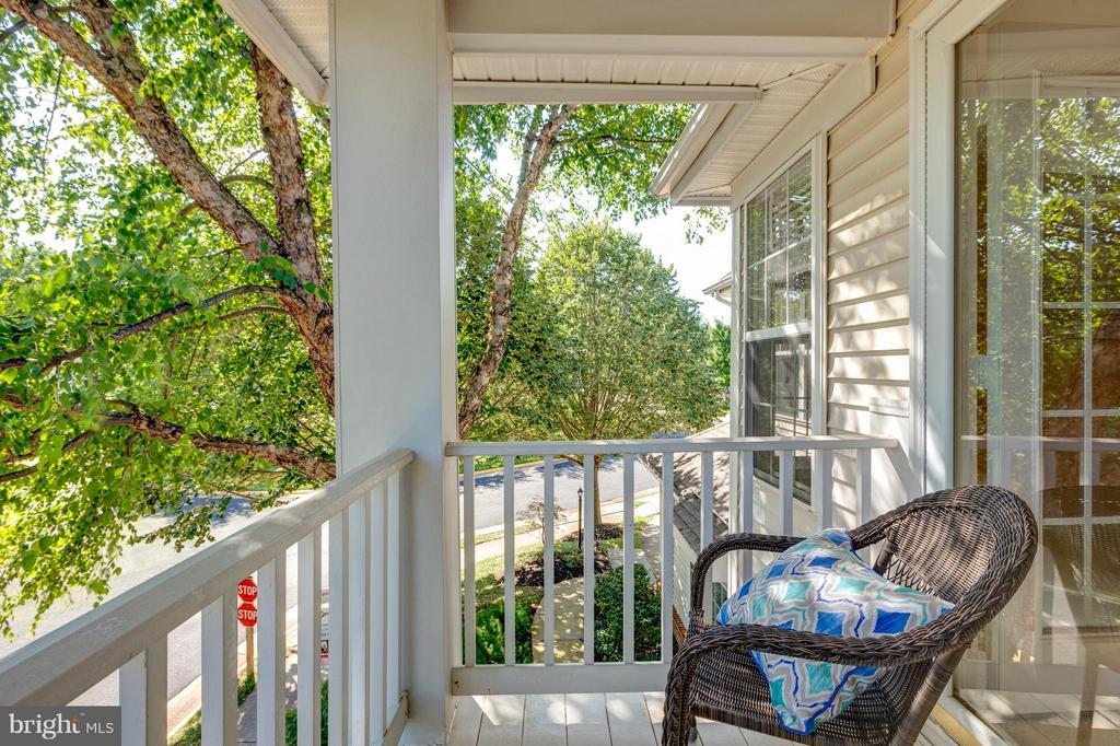 Porch off 2nd. Bedroom) - 9800 BOLTON VILLAGE CT, FAIRFAX