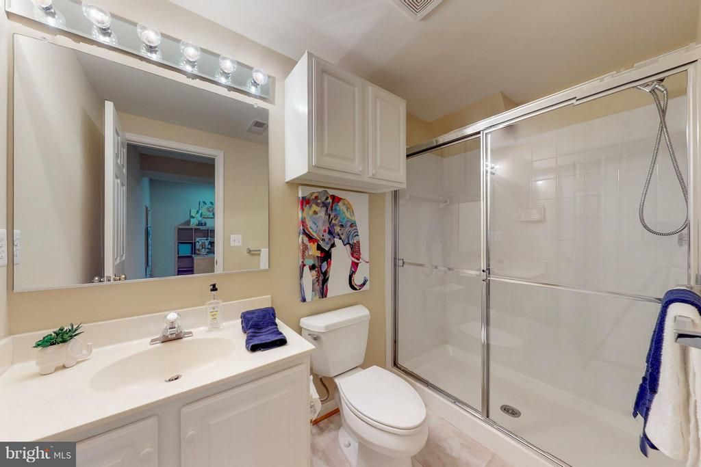 Full Bath on Lower Level - 9800 BOLTON VILLAGE CT, FAIRFAX