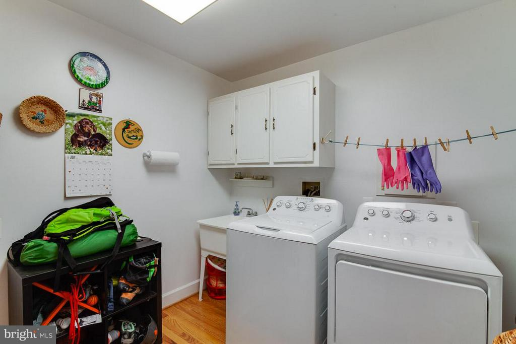 Separate Laundry Room on Main Lvl - 7920 LEWINSVILLE RD, MCLEAN