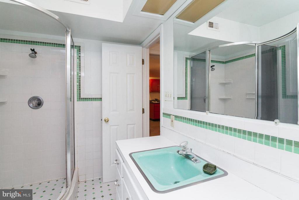 Full Bath #4 on Lower Level - 7920 LEWINSVILLE RD, MCLEAN