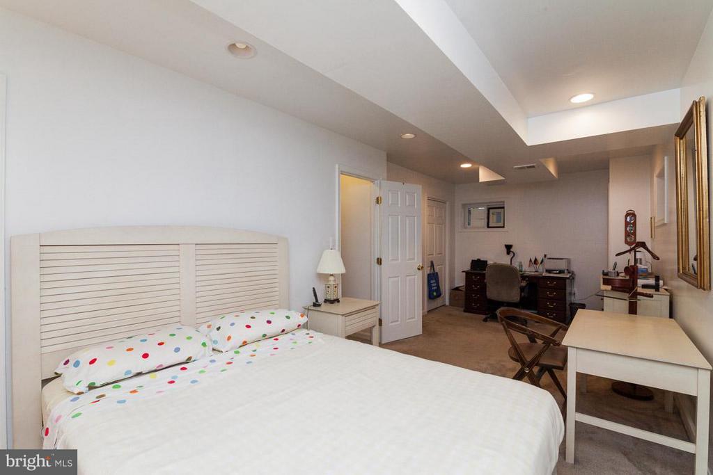 Bedroom #4 on Lower Level - 7920 LEWINSVILLE RD, MCLEAN