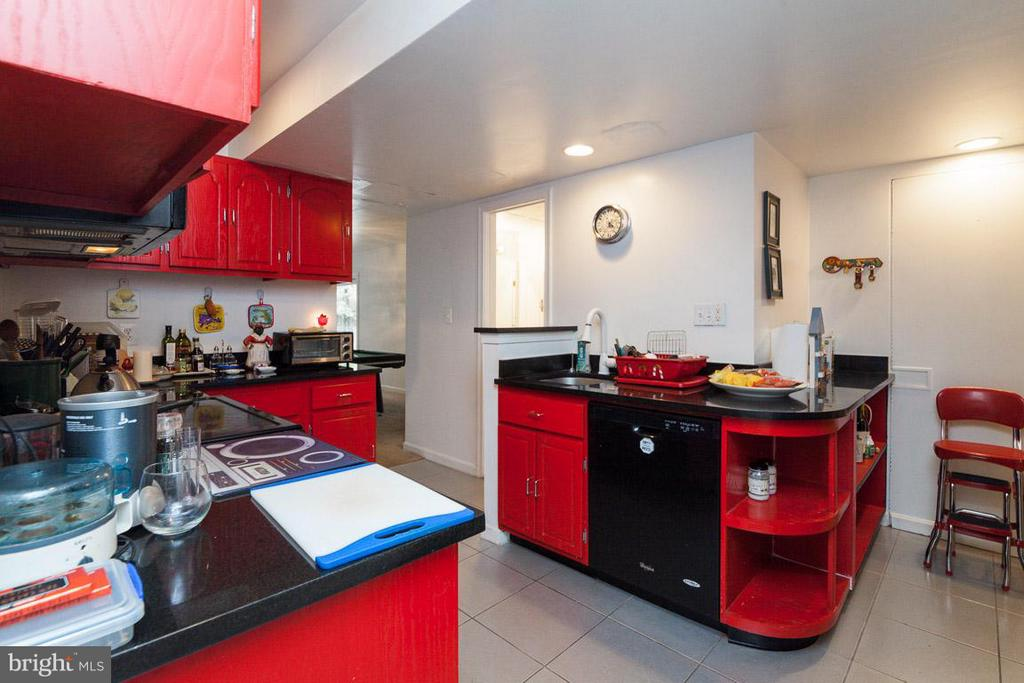 2nd Full Kitchen on Lower Level - 7920 LEWINSVILLE RD, MCLEAN