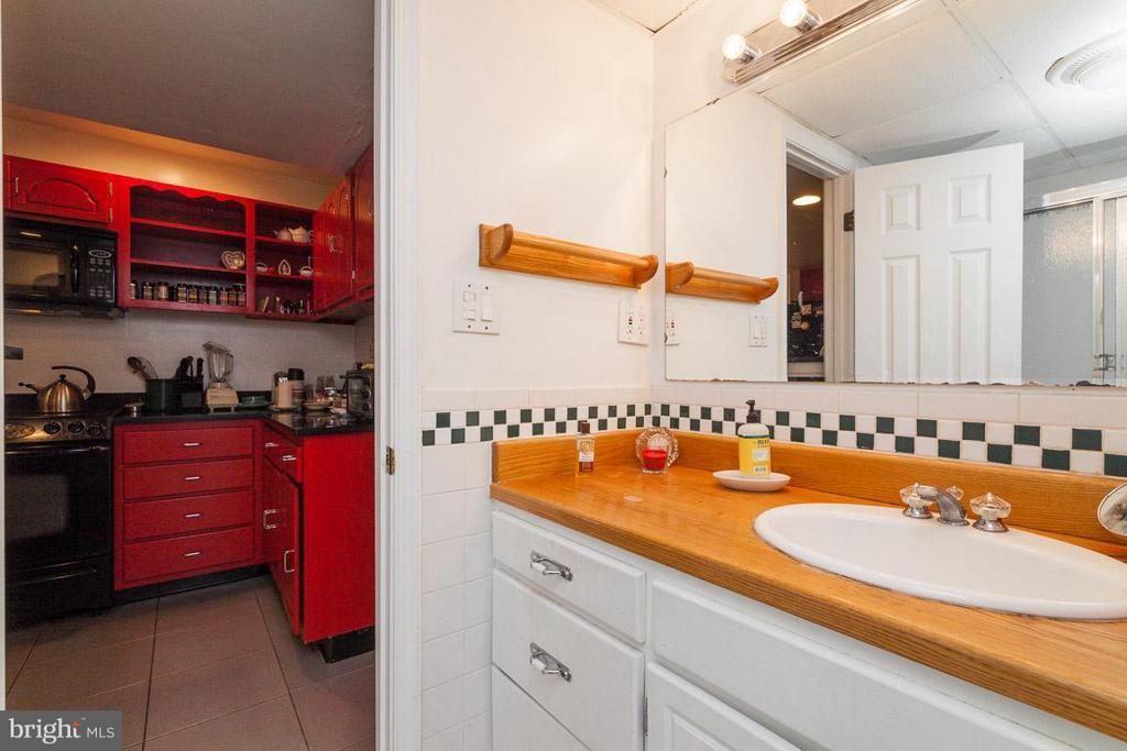Full Bath #3 on Lower Level - 7920 LEWINSVILLE RD, MCLEAN