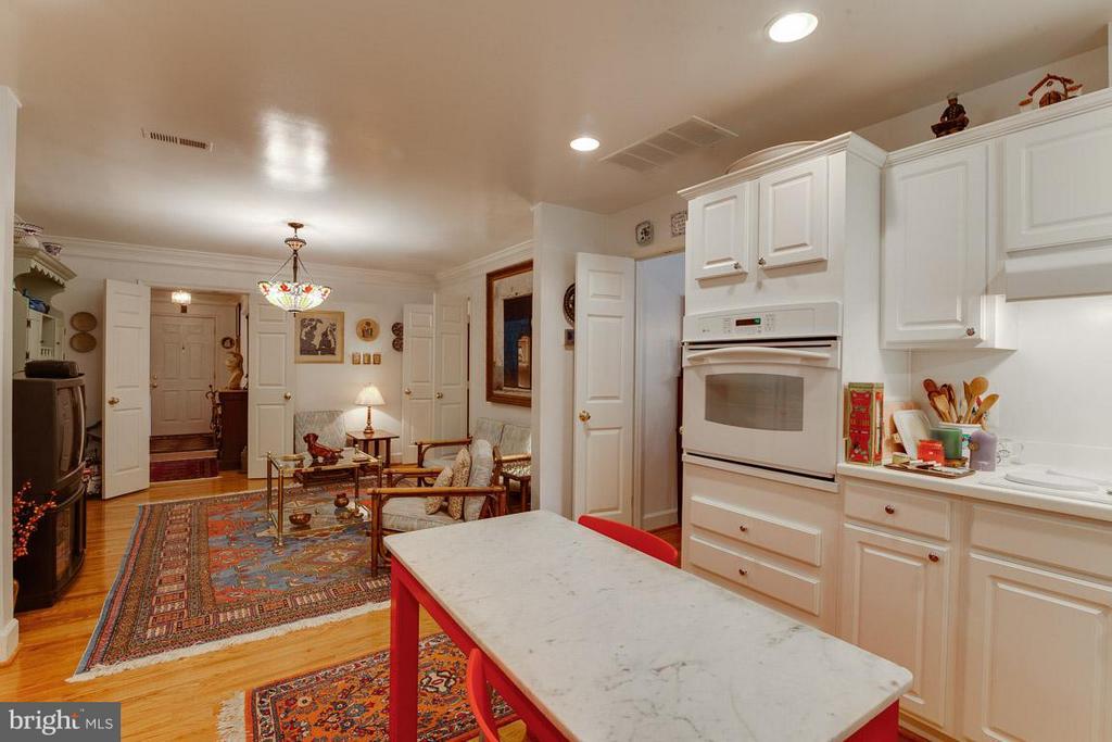 Breakfast Room off Kitchen - 7920 LEWINSVILLE RD, MCLEAN
