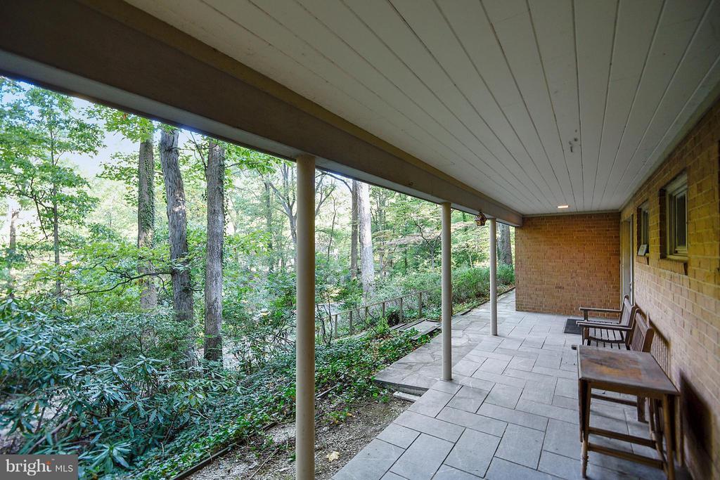 Porch on Lower Level - 1335 PEGRAM ST N, ALEXANDRIA
