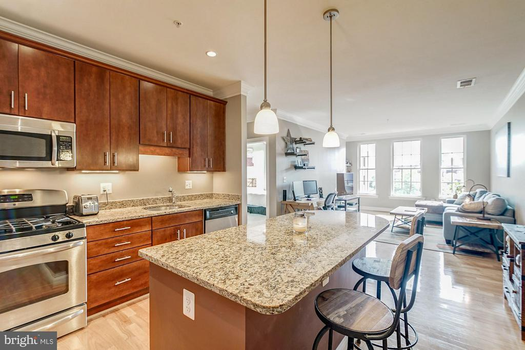 Gorgeous kitchen - 1023 ROYAL ST #306, ALEXANDRIA