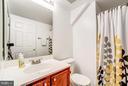Bathrooms on all three levels! 2nd level bathroom - 4314 SUTLER HILL SQ, FAIRFAX