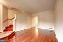 Beautiful hardwood floors throughout! - 4314 SUTLER HILL SQ, FAIRFAX