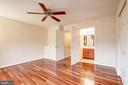 On the third level for extra privacy - 4314 SUTLER HILL SQ, FAIRFAX