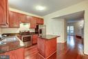 Gourmet kitchen completely redone in 2010! - 4314 SUTLER HILL SQ, FAIRFAX