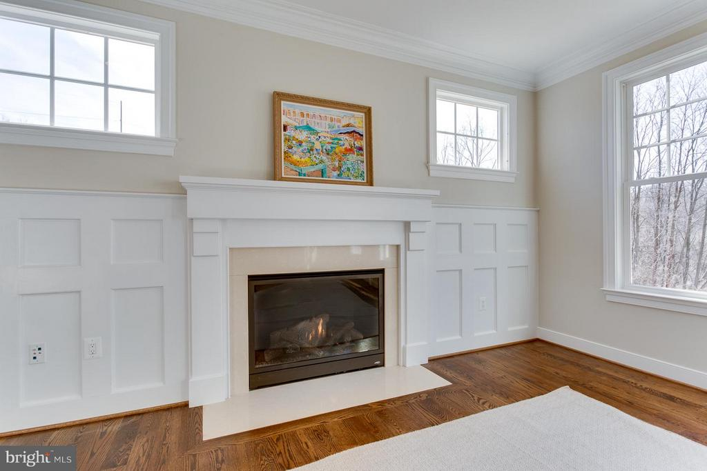 Fireplace As Shown in Model w/ Optional Trim - 0 TUNWELL CT, BURKE