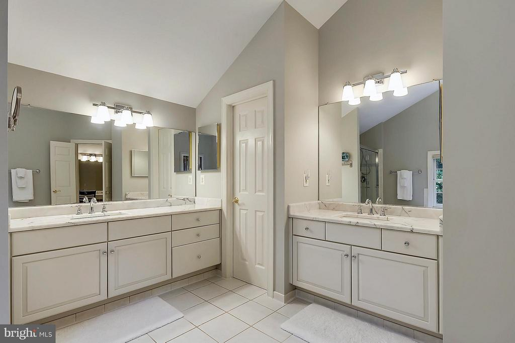 Updated Master Bath - 306 SINEGAR PL, STERLING