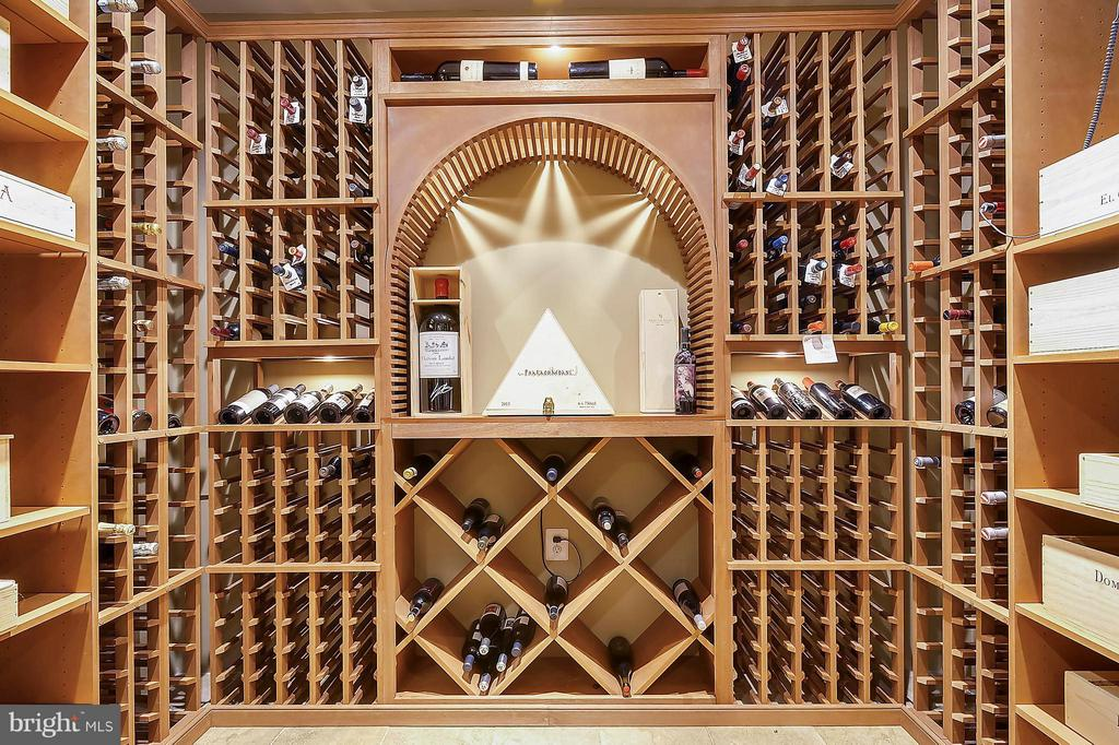 Custom Wine Cellar - 306 SINEGAR PL, STERLING
