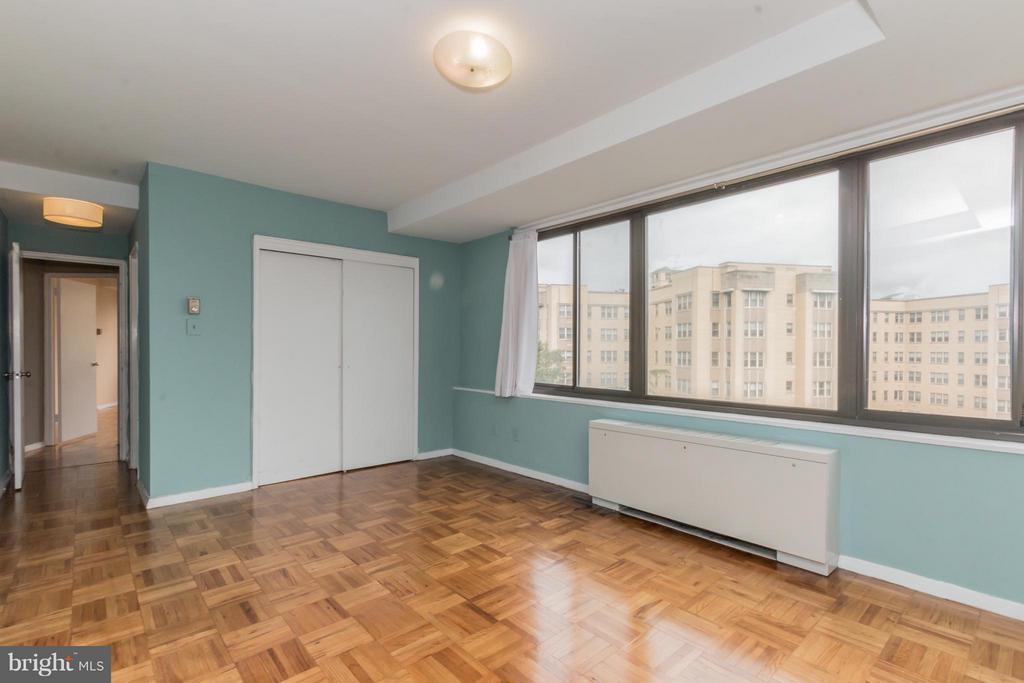 Master Bedroom - 4740 CONNECTICUT AVE NW #802, WASHINGTON