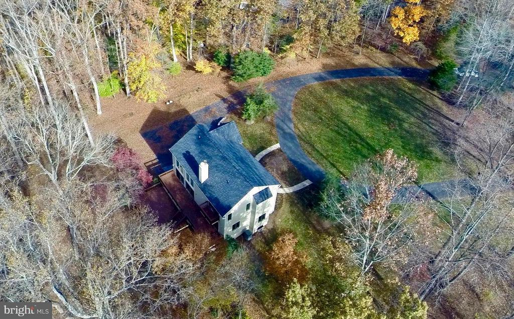 Aerial view of property - 10714 MILKWEED DR, GREAT FALLS
