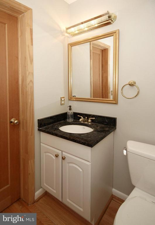 Granite Powder Room - 10714 MILKWEED DR, GREAT FALLS