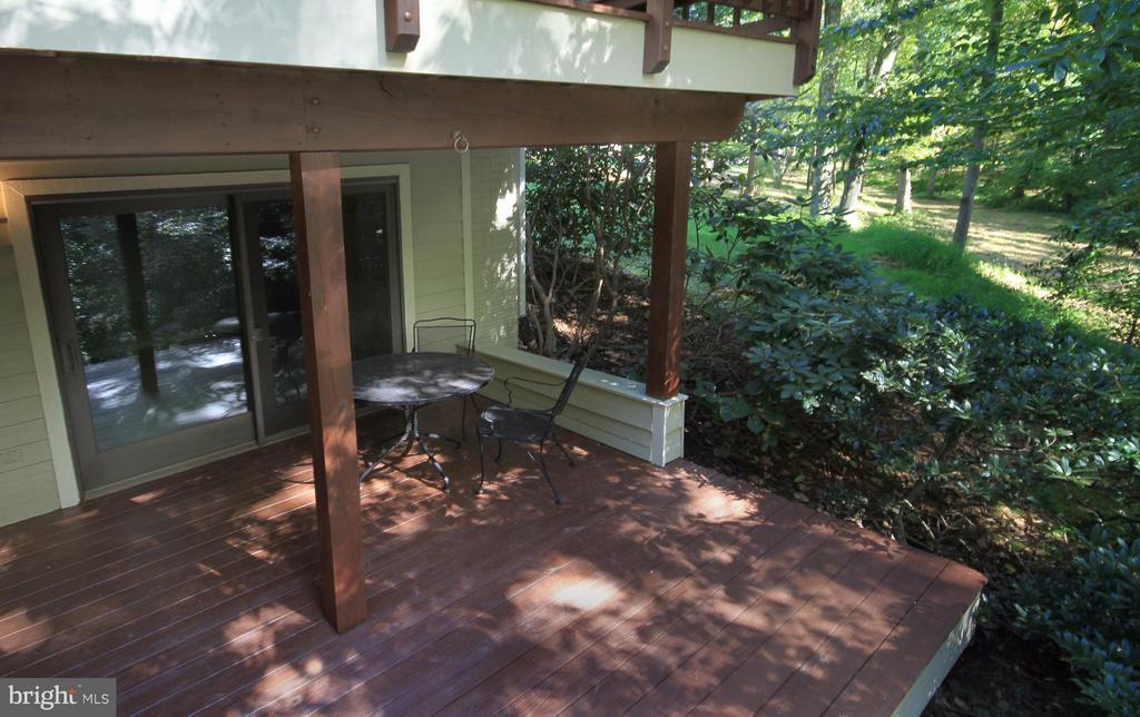 Private Deck with unparalleled views - 10714 MILKWEED DR, GREAT FALLS