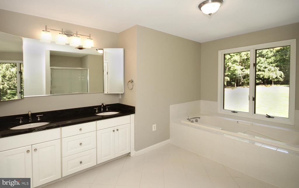 Grand bath with double vanity - 10714 MILKWEED DR, GREAT FALLS