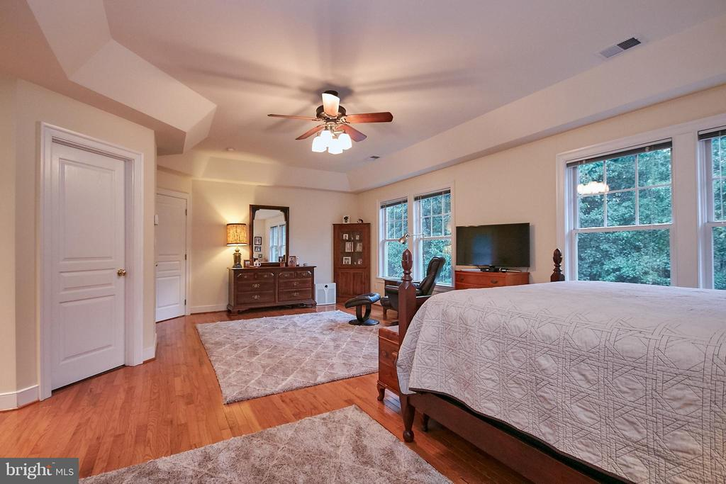 two walk in closets, serenc views - 7224 FARR ST, ANNANDALE