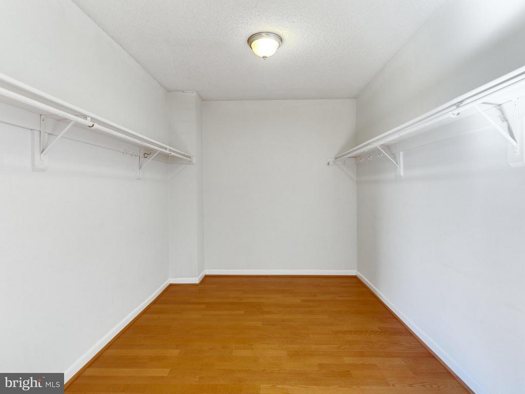 Bedroom (Master) Walk-In Closet - 1515 ARLINGTON RIDGE RD #202, ARLINGTON