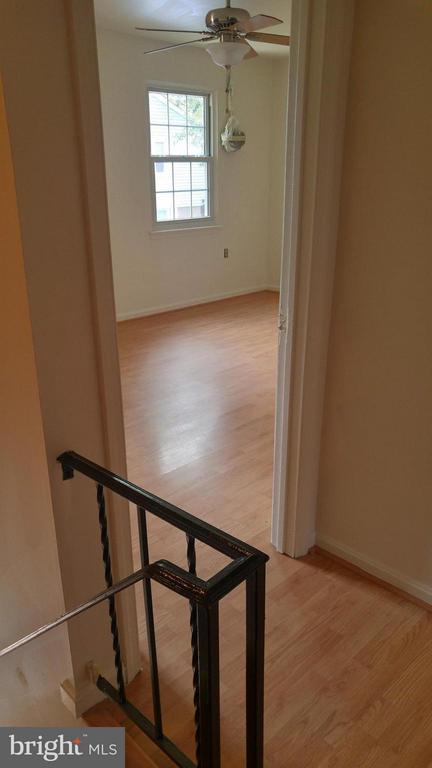 View into Master Bedroom - 8005 COMMUNITY DR, MANASSAS