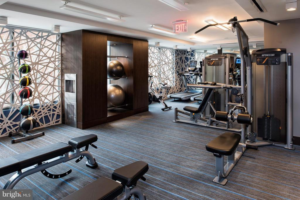 Fitness Center - 8302 WOODMONT AVE #601, BETHESDA