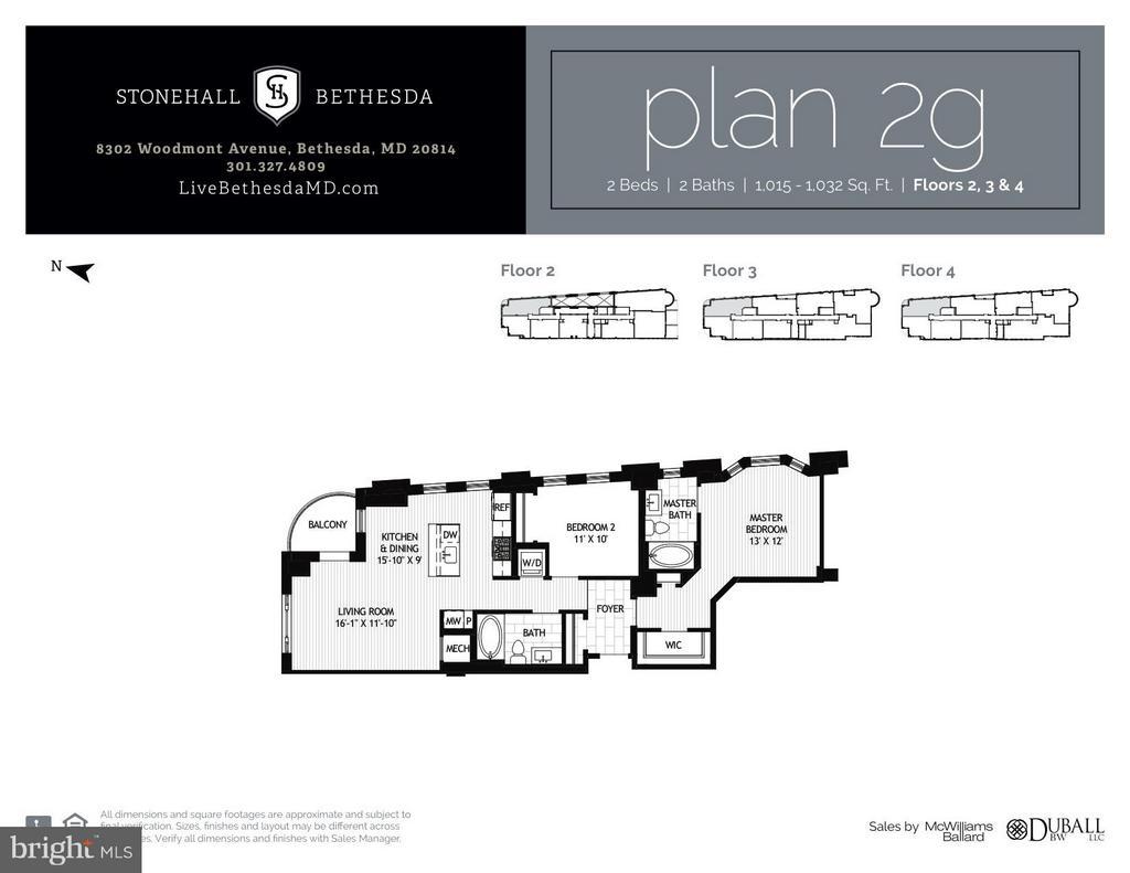 Interior (General) - 8302 WOODMONT AVE #303, BETHESDA