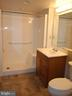 View toward Updated Bathroom from Bedroom - 900 TAYLOR ST #1111, ARLINGTON