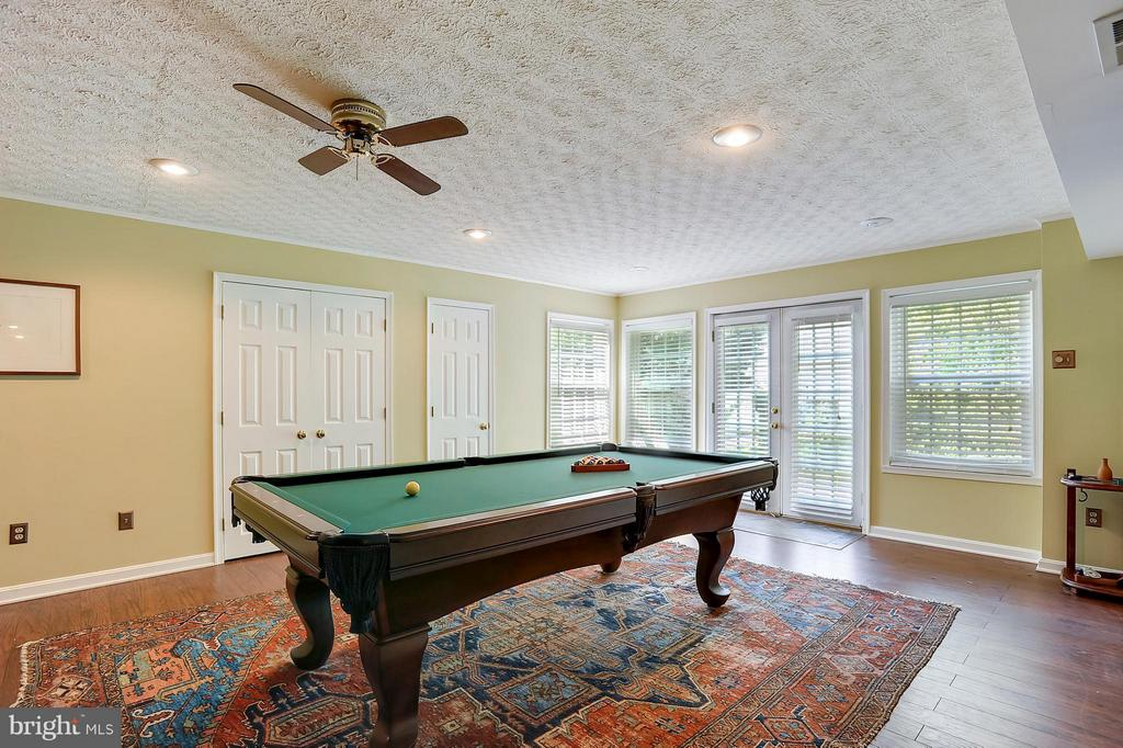 Lower Level Entertainment - 43554 COAL BED CT, ASHBURN