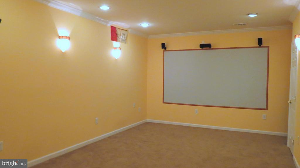 Lower Level Theater Room - 42573 REGAL WOOD DR, ASHBURN