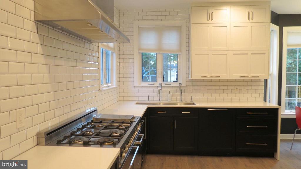 Gas Cooking and Quartz Counter Tops - 42573 REGAL WOOD DR, ASHBURN