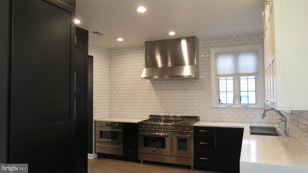 High End SS Appliances and Industrial SS Hood Vent - 42573 REGAL WOOD DR, ASHBURN