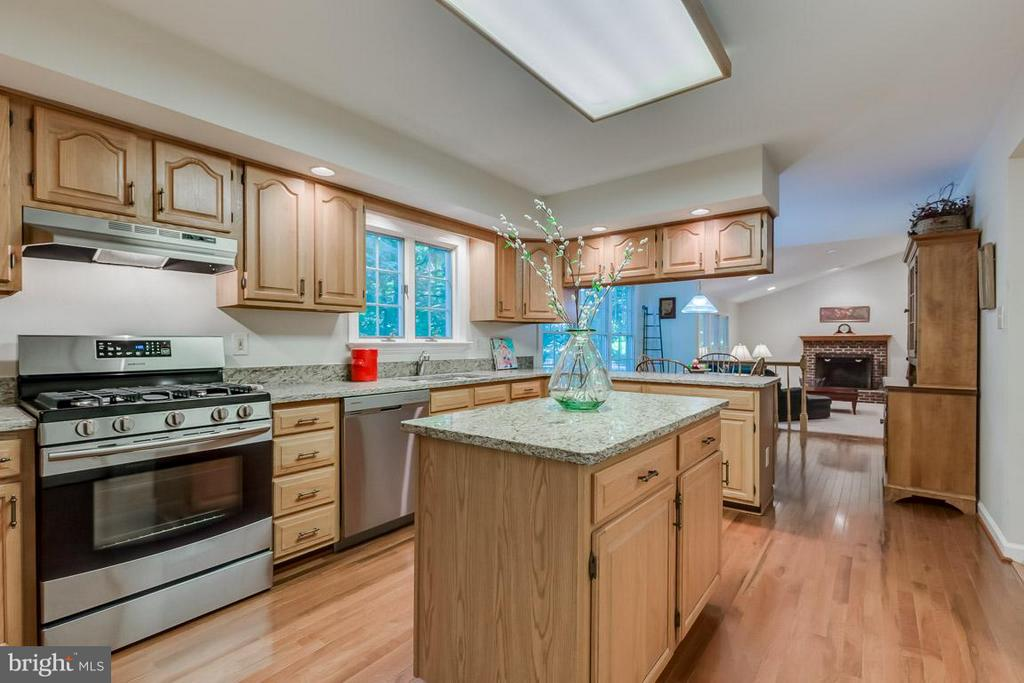 Lovely kitchen: walk-in pantry, granite counters - 9879 HEMLOCK HILLS CT, MANASSAS
