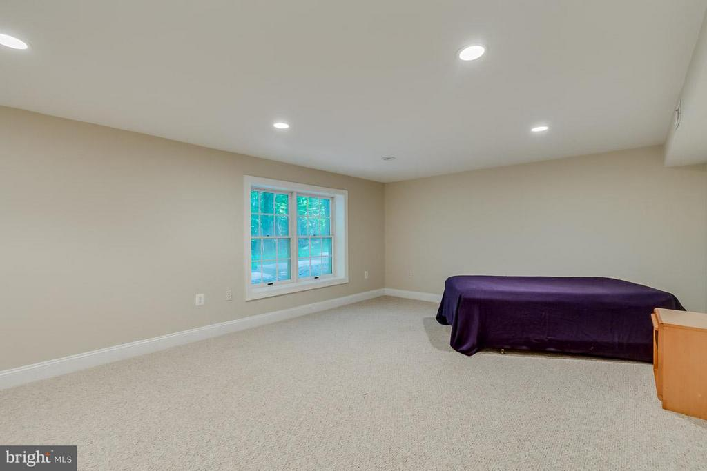 Finished area perfect for au pair suite - 9879 HEMLOCK HILLS CT, MANASSAS
