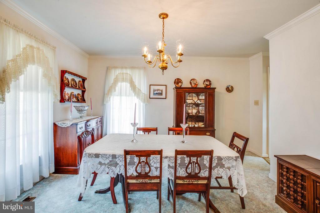Dining Room - 501 MAPLE GROVE DR, FREDERICKSBURG