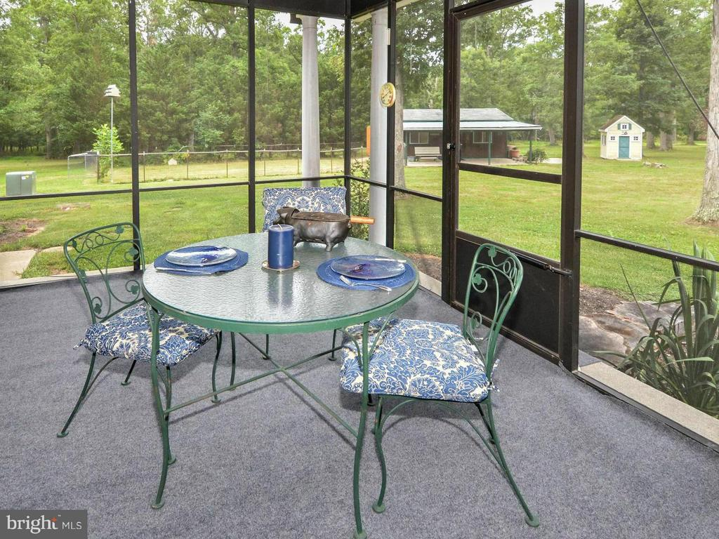 Screened in porch - 3401 BACK MOUNTAIN RD, WINCHESTER