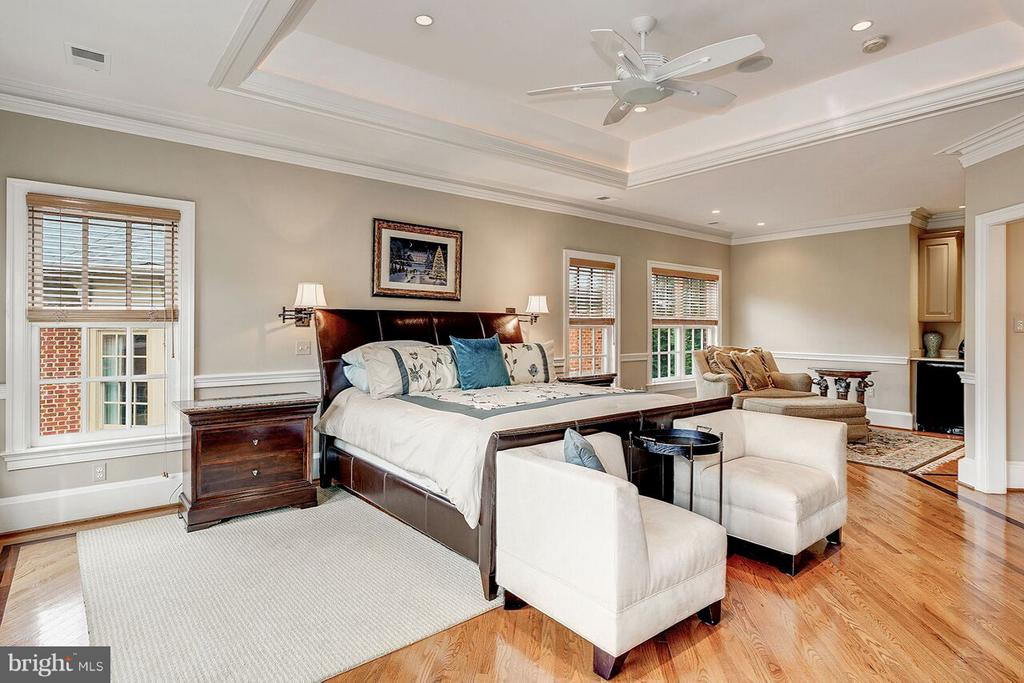 Master Suite with Breakfast Bar and Sitting Area - 2323 N RIDGEVIEW RD, ARLINGTON