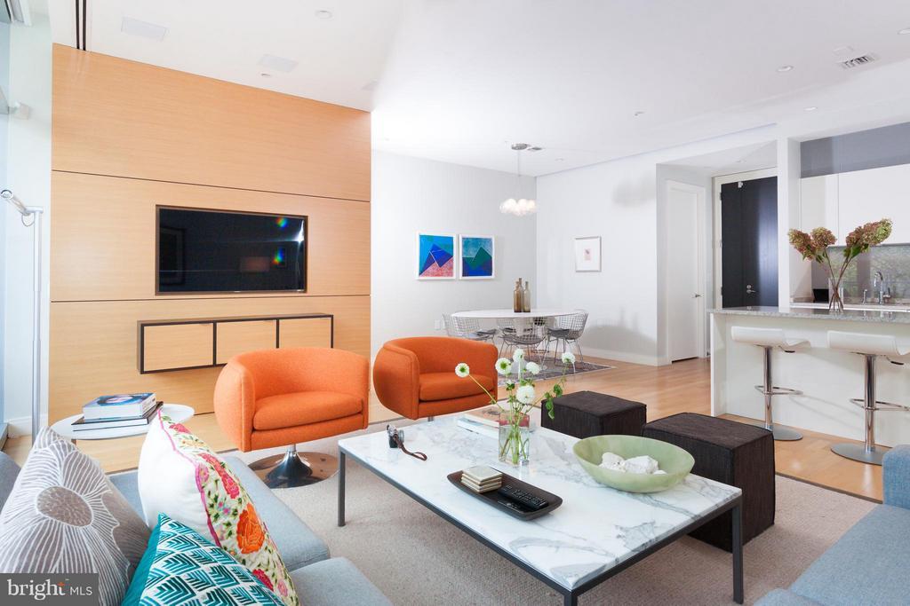 Living Room - 1177 22ND ST NW #4F, WASHINGTON