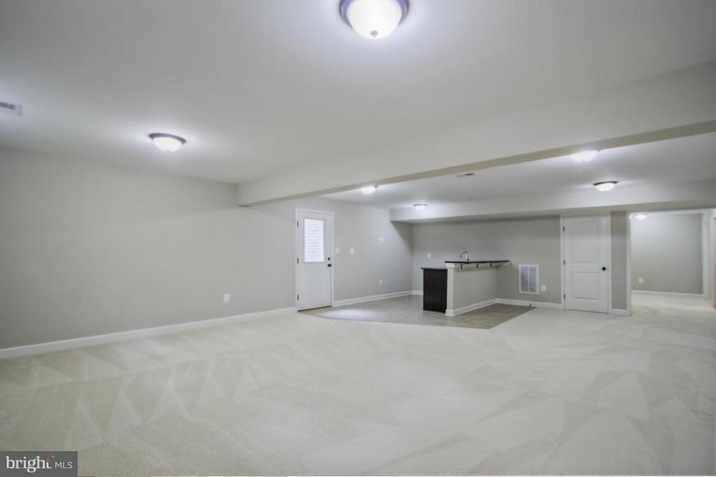 Finished Lower Level with Wet Bar - INDIAN POINT RD, STAFFORD