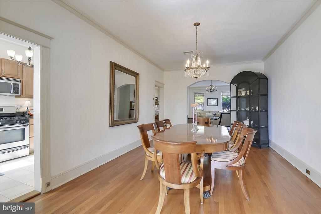 Banquet Sized Dining Room - 1622 ALLISON ST NW, WASHINGTON
