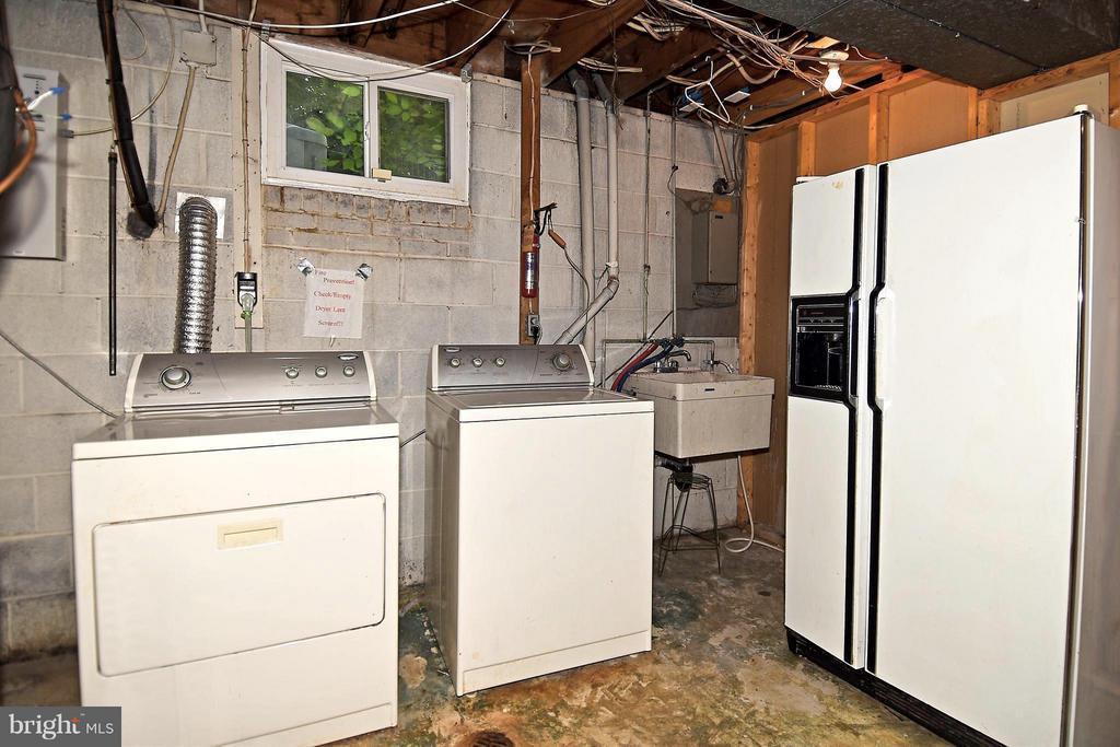 Lower Level Utility Room - 6024 FRANCONIA RD, ALEXANDRIA