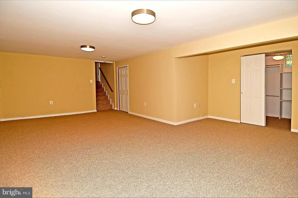 Across Rec Room to Stairs and Storage Room - 6024 FRANCONIA RD, ALEXANDRIA